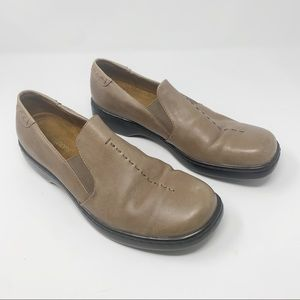 AUDITIONS Slip On Stitch Leather Comfort Loafers